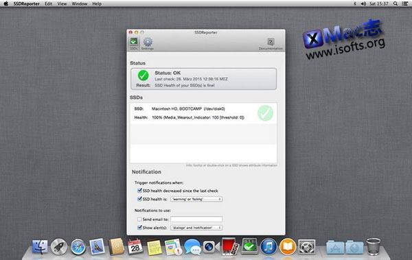 [Mac] SSD固态硬盘健康状况检测工具 : SSDReporter