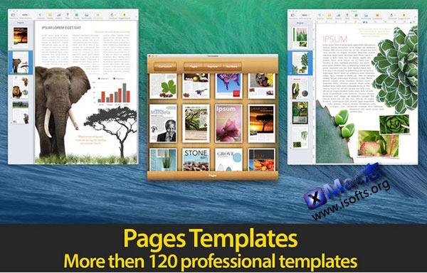 [Mac] iWork模板套件 : iTemplates