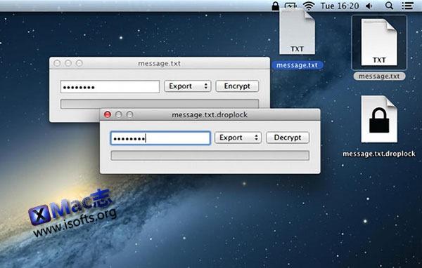 [Mac] 文件加密工具 : Droplock