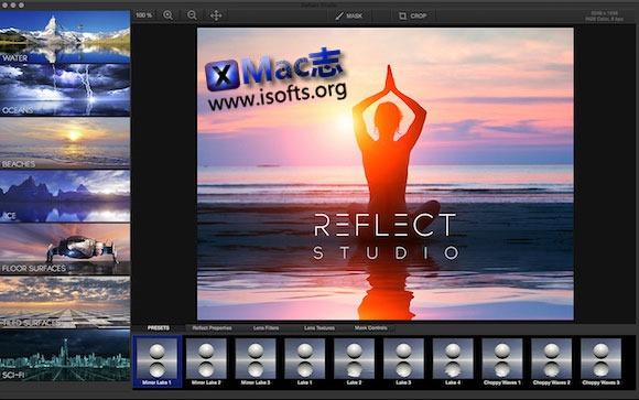 [Mac] 为图片添加水影效果 : Reflect Studio