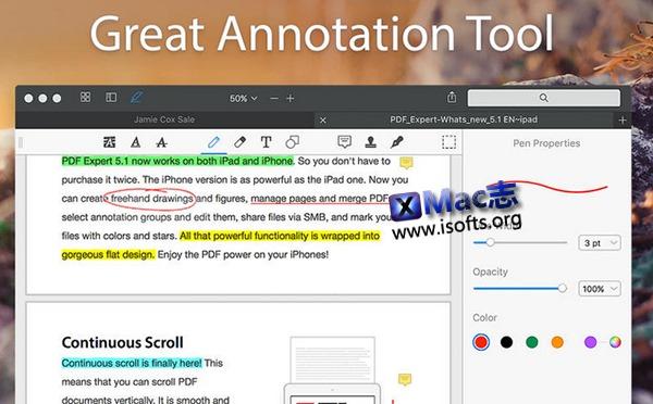 [Mac] 专业高效的的PDF阅读标注工具 : PDF Expert