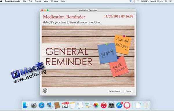 [Mac] 智能提醒软件 : Smart Reminder