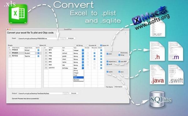 [Mac]将excel中内容转为plist文件 : Excel2Plist