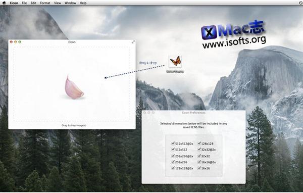 [Mac] icons图标转换工具 : Eicon