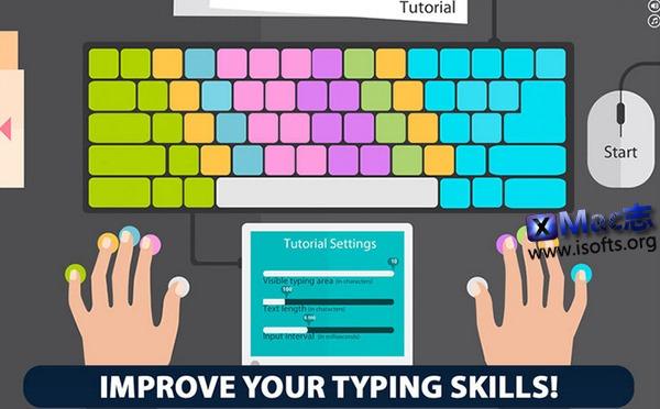 [Mac]打字练习工具 : Master Of Typing