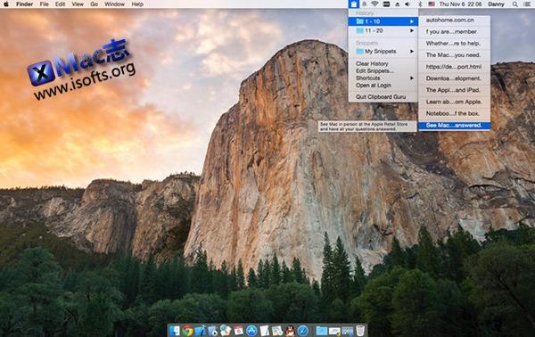 [Mac]增强型剪贴板历史及管理工具 : Clipboard Guru
