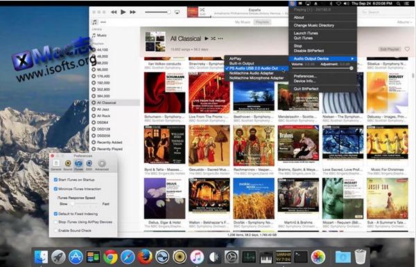 [Mac]高保真音乐播放器 : BitPerfect