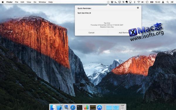 [Mac]快速添加提醒工具 : QuickdRemind