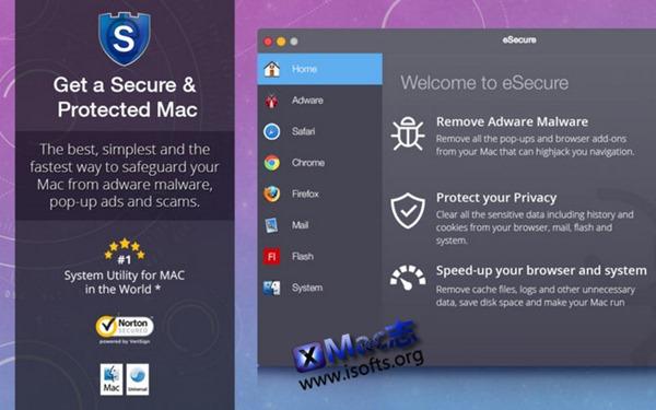 [Mac]查杀毒及垃圾清理工具 : eSecure