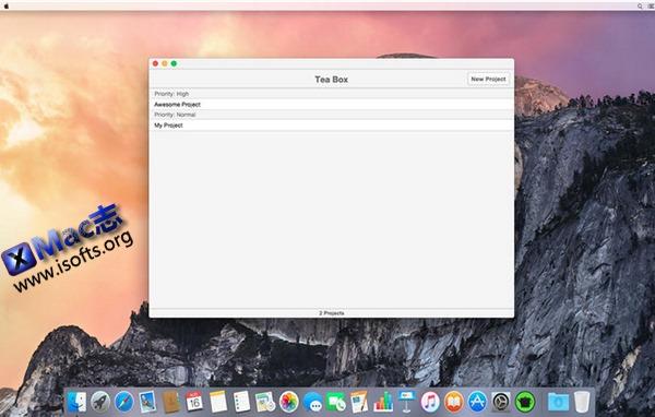 [Mac]项目文件管理工具 : Tea Box
