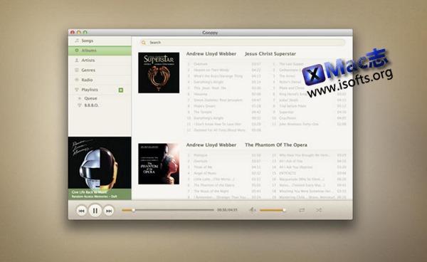 [Mac]Google Play 音乐客户端 : Gooppy