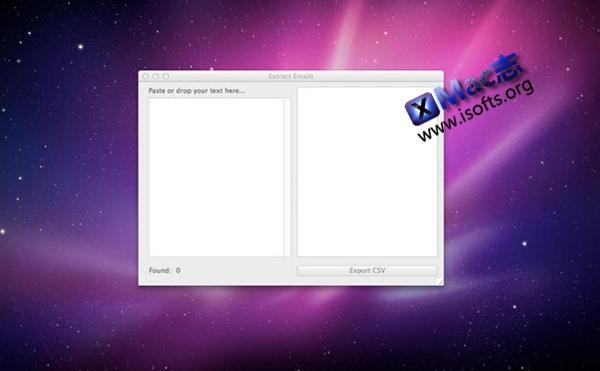 [Mac]邮箱地址导出工具 : Extract Emails