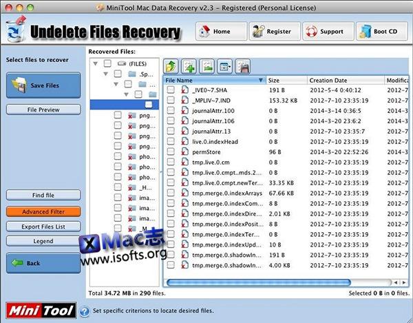 [Mac]数据恢复软件 : MiniTool Mac Data Recovery
