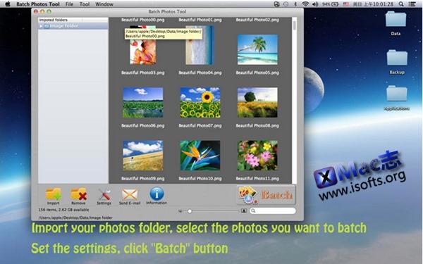 [Mac]批量照片处理工具 : Batch Photos Tool