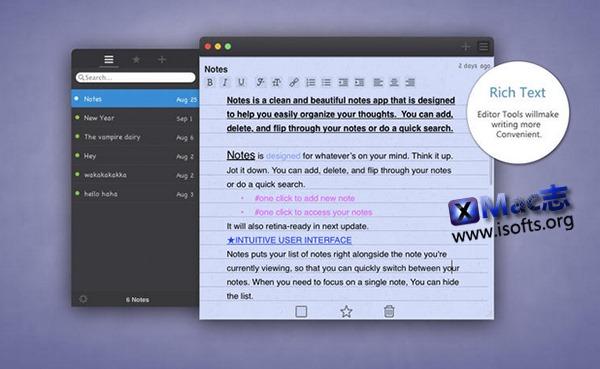 [Mac]笔记软件 : Note Pro