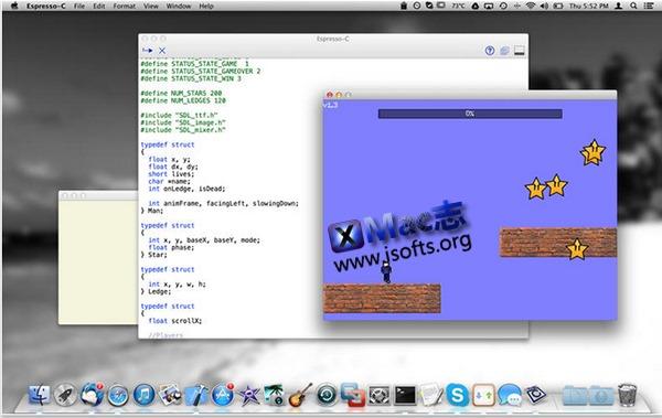 [Mac]快速编译器以及学习工具 : Espresso-C