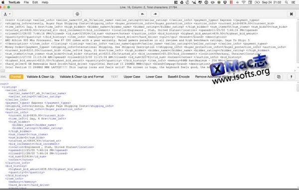 [Mac]代码格式转换工具 : TextLab