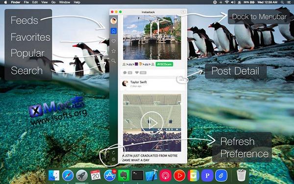 [Mac] Instagram 客户端 : Instastack for Instagram