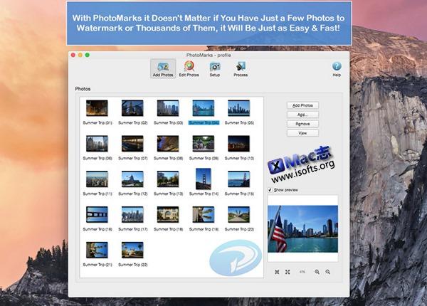[Mac]图片水印添加工具 : PhotoMarks