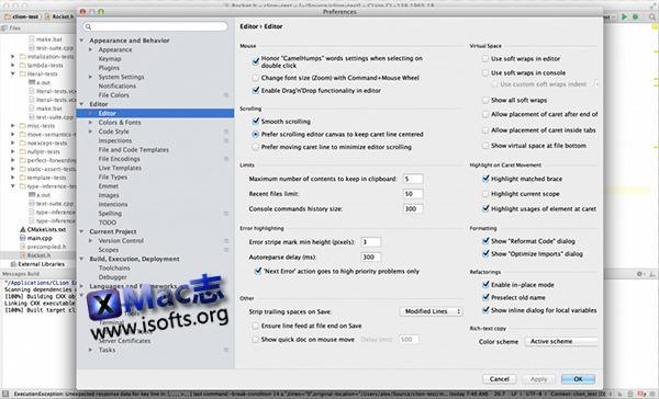 [Mac]全新的 C/C++ 跨平台集成开发环境 : CLion