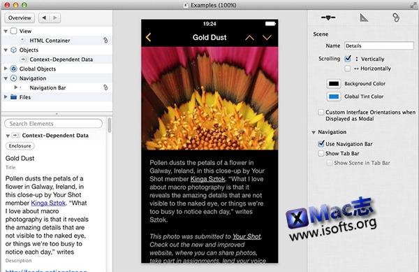 [Mac] iOS应用开发工具 : Compose