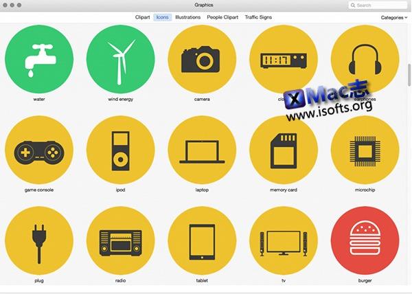 [Mac]高品质插图套件 : Graphics