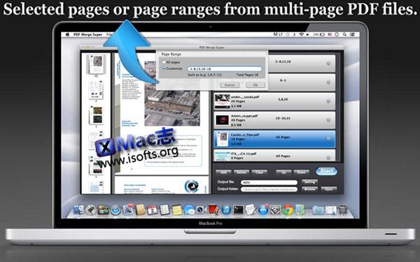 [Mac] PDF 文档合并工具 : PDF Merge Super