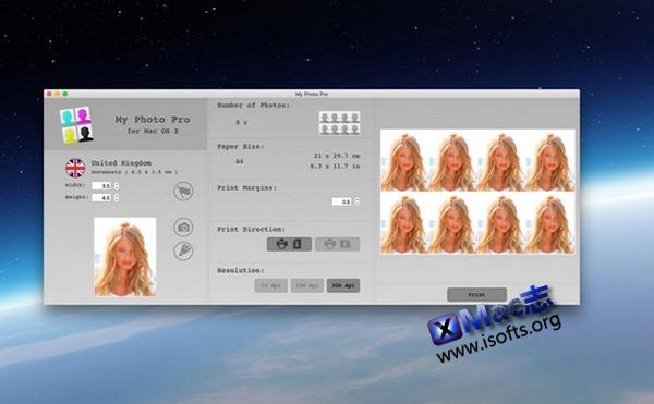 [Mac]证件照制作利器 : My Photo Pro
