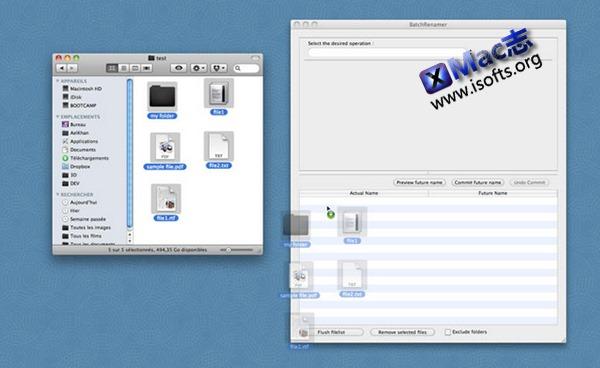 [Mac]文件批量重命名工具 : Batch Renamer