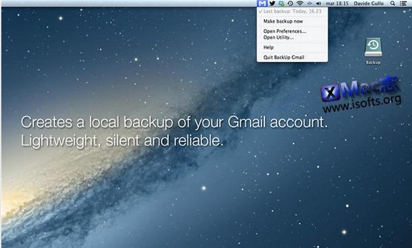 [Mac] Gmail 邮箱备份工具 : BackUp Gmail