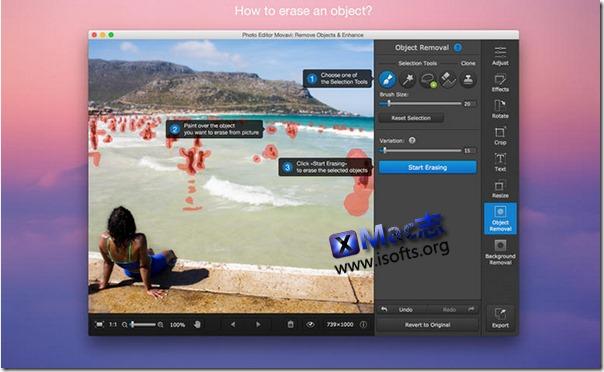 [Mac]专业的照片编辑处理软件 : Photo Editor Movavi