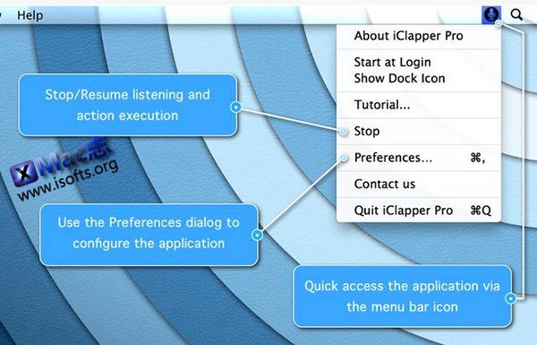 [Mac]通过拍手来控制电脑操作的工具 : iClapper Pro
