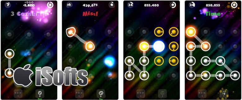 [iPhone] Dot Line :打发时间的记忆考验游戏