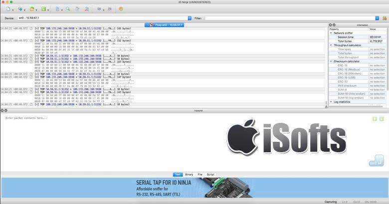 [Mac]网络IO监控软件 :IO Ninja