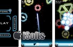 [iPhone] FingerLaser : 绚丽的射击游戏