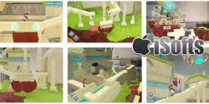 [iPhone/iPad] ARise : 基于AR的连接漂浮岛的魔法点游戏
