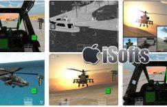 [iPad] Apache SIM HD : 阿帕奇直升机射击游戏