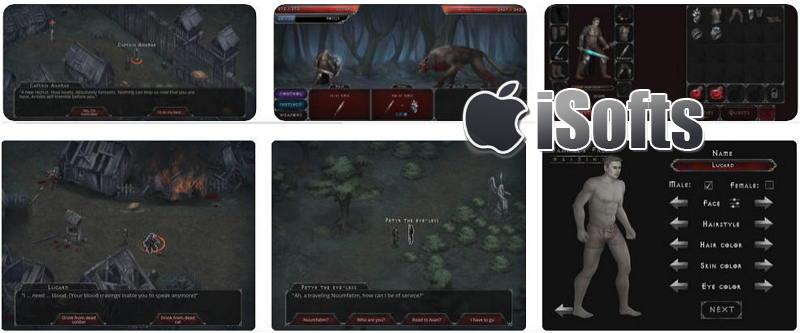 [iPhone/iPad] Vampire's Fall(开放世界吸血鬼) : 角色扮演RPG游戏