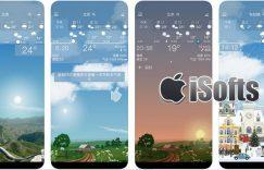 [iPhone/iPad] YoWindow Weather : 具备动态景观的天气预报软件