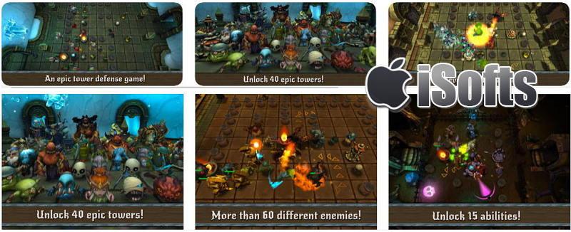 [iPhone/iPad] Beast Towers : 人兽对决塔防游戏