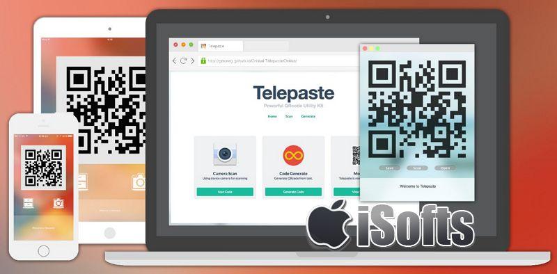 [Mac/iPhone/iPad] Telepaste : 好用的二维码生成器