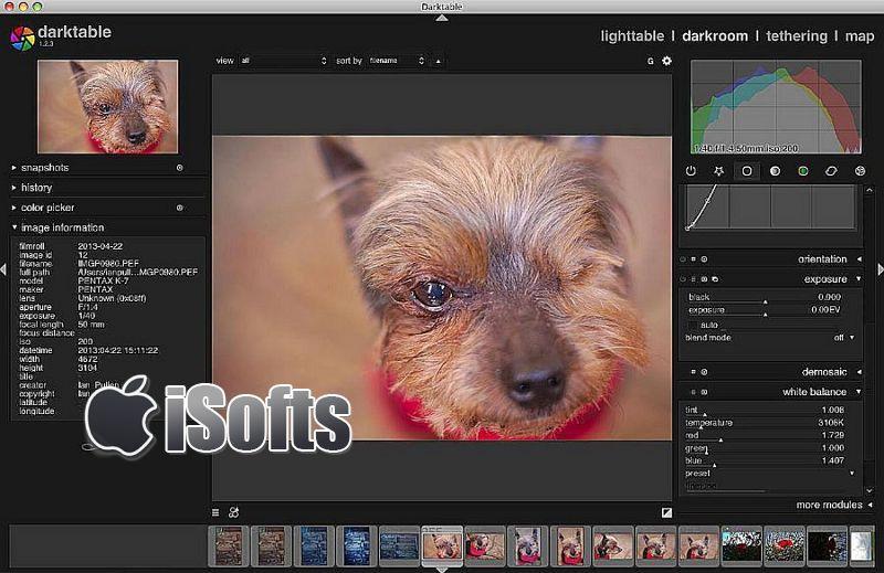 [Mac] Darktable : 数字摄影暗房软件