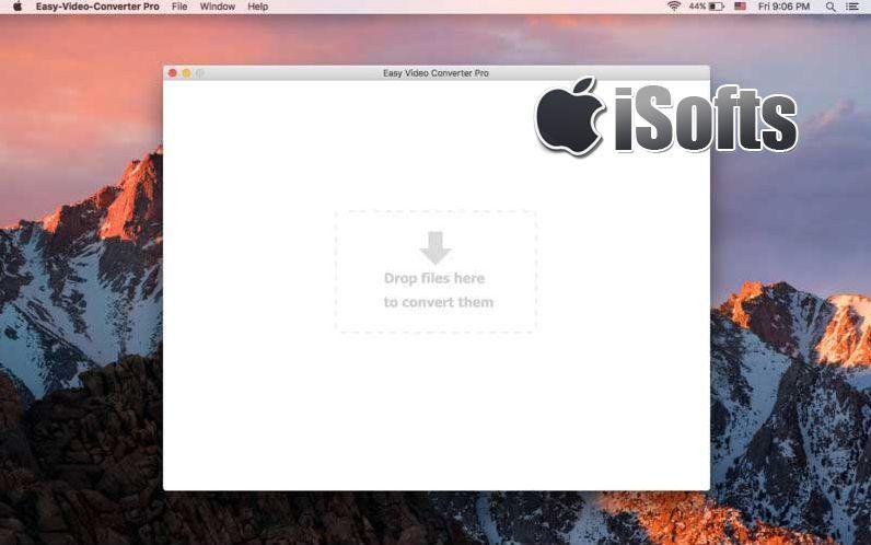 [Mac] Easy Video Converter Pro : 全能视频格式转换工具