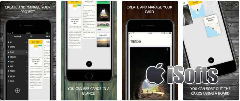 [iPhone/iPad] Neatask : 结合笔记功能的待办事项清单软件