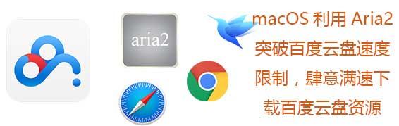 macOS使用Aria2下载百度网盘 – 突破百度云盘速度限制满速下载